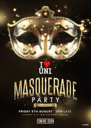 IHU Masquerade Party (Official Teaser)